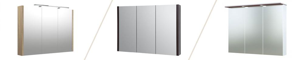Armoires de toilette avec miroir